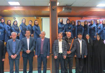 آیین افتتاحیه مسابقات تکواندو دانشجویان دختر  به میزبانی دانشگاه پیام نور مرکز مشهد