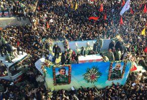 جان باختن تعدادی از مردم در جریان تشییع پیکر سردار سلیمانی