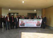 نامگذاری مجتمع آموزشی دانشگاه پیام نور لامرد به نام شهید سپهبد حاج قاسم سلیمانی