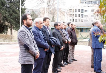 عزاداری و سوگواری در سازمان مرکزی دانشگاه پیام نور به مناسبت شهادت سردار سلیمانی