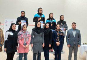 کسب مقام دوم مسابقات قهرمانی اسکواش توسط دانشجوی دانشگاه پیام نور