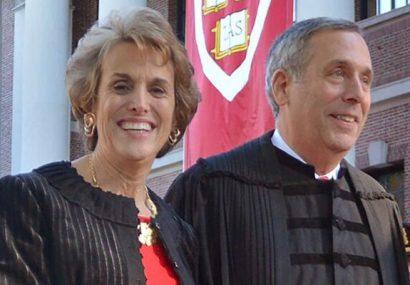 رئیس دانشگاه هاروارد و همسرش کرونا گرفتند