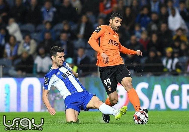لژیونر ایرانی در پرتغال هم رکورد زد!