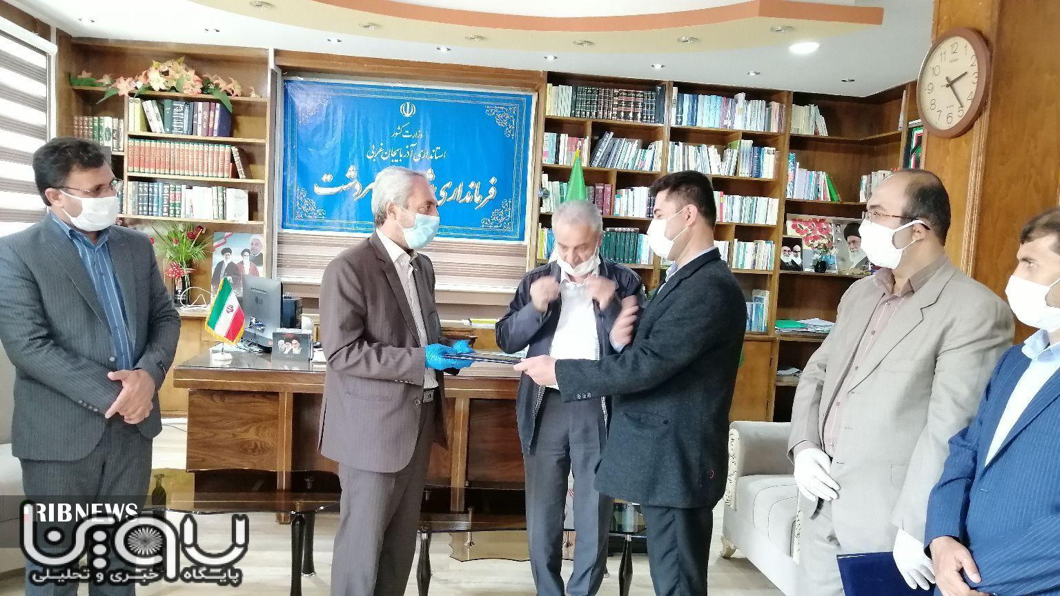 انتصاب رئیس جدید دانشگاه پیام نور سردشت
