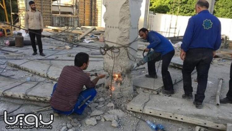 ماجرای تخریب یک طبقه از ملک ریاستجمهوری در جماران