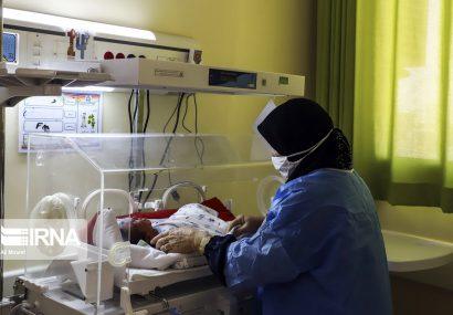 بخش کودکان مبتلا به کرونا در بیمارستان ابوذر اهواز
