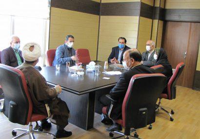 نشست مشترک شهردار، رئیس شورای شهر با رئیس و مدیران ستادی دانشگاه پیام نور استان قزوین