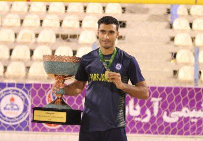 افتخارآفرینی دانشجوی دانشگاه پیام نور بوشهر در لیگ فوتبال ساحلی
