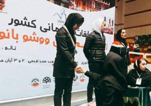 کسب مقام دوم مسابقات ووشو کشور توسط دانشجوی دانشگاه پیام نور لرستان