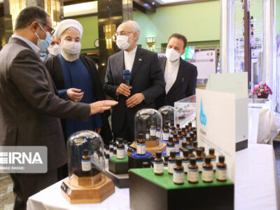 رونمایی و بهره برداری از ۱۳۳ دستاورد ملی هسته ای در پنج کشور استان