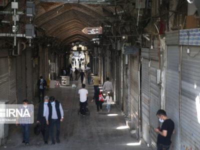 تعطیلی مجدد واحد های صنفی مختلف در تهران