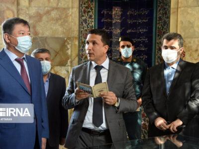 سفر وزیر کشور تاجیکستان به شیراز