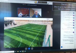 افتتاح سه پروژه ملی تربیت بدنی دانشگاه پیام نور به صورت ویدئو کنفرانس