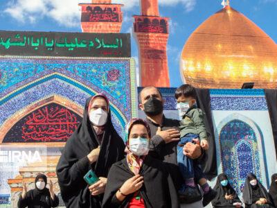 مراسم جاماندگان اربیعین در سراسر کشور