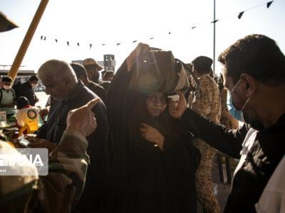 بازگشت زائران اربعین از مرز شلمچه