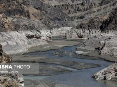رد پای خشکسالی در سد امیرکبیر